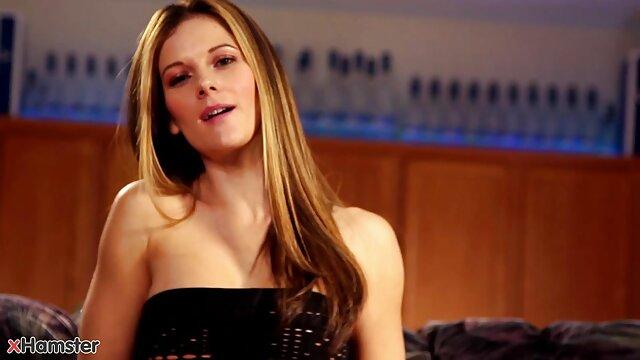 Rubia sexy videos de lesbi Hairjob, Mamada, Semen en el cabello, Cabello largo